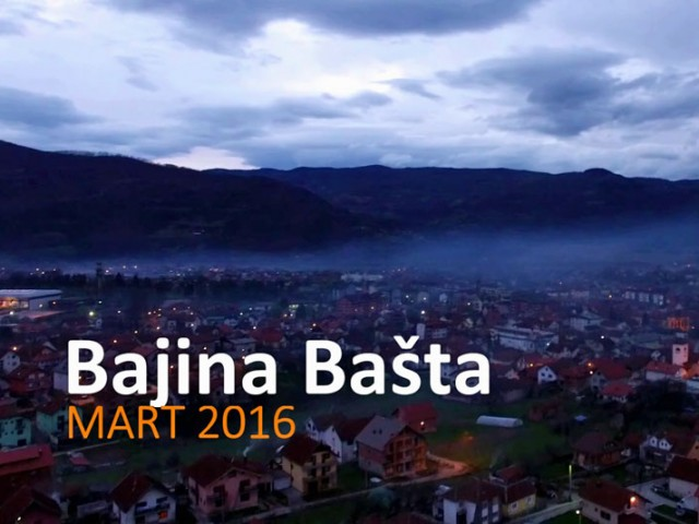 Bajina Basta – DJI Phantom video