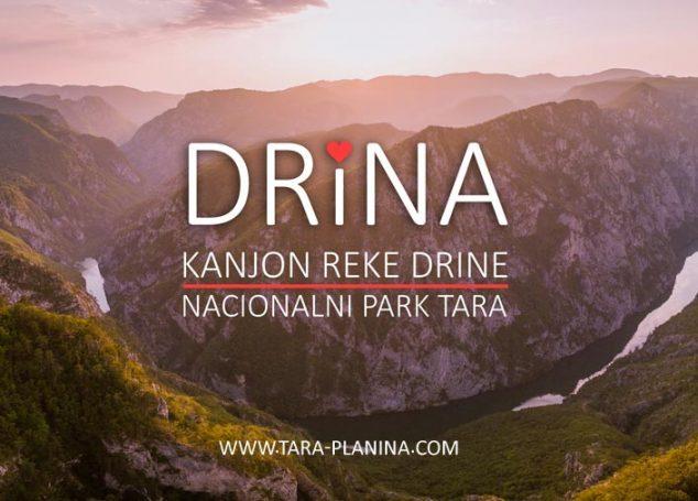 Kanjon reke Drine u Nacionalnom parku Tara