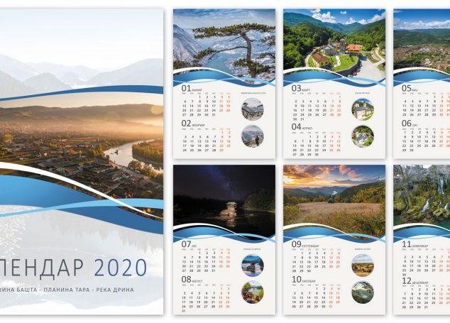 Kalendar za 2020.godinu
